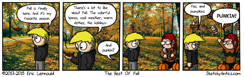 Fun Fact:  Rachael likes pumpkins.